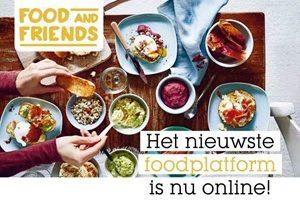 Nieuw! Maar ook ontzettend vertrouwd: Foodandfriends.nl