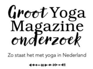Yoga Magazine onderzoek