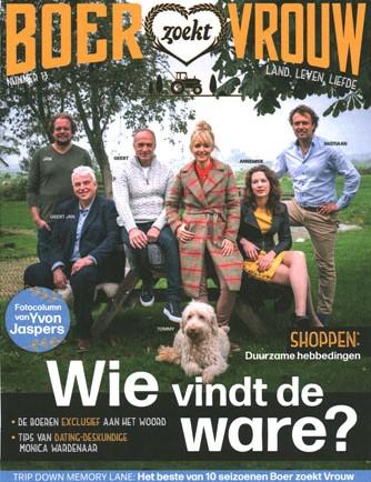 Boer zoekt Vrouw Magazine