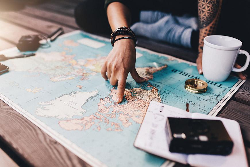 Advies aan de travelmarkt